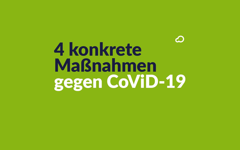 4 konkrete Maßnahmen von lengoo gegen CoViD-19